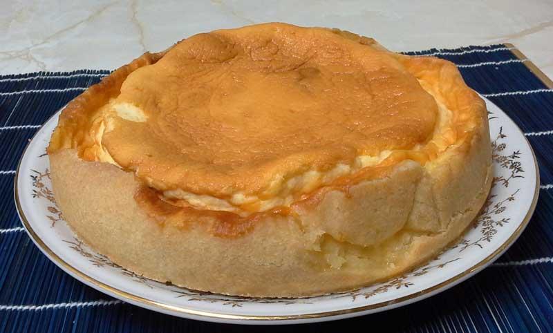 Tarta de queso alemana sabor vainilla